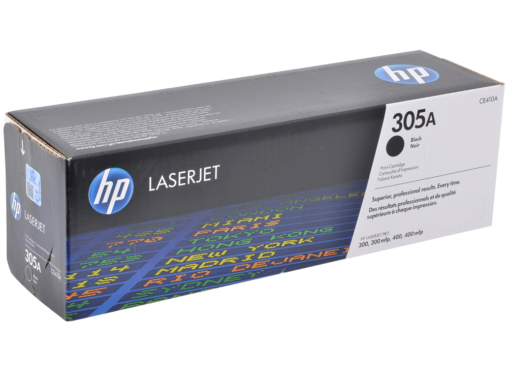 Картридж HP CE410A (№305A) Черный CLJ M351, M375, M451, M475 4pk ce410a 410a ce411a ce412a ce413acompatible color toner cartridge for hp laserjet pro 300 305a 400 m351 m375 m475dn m451 m475