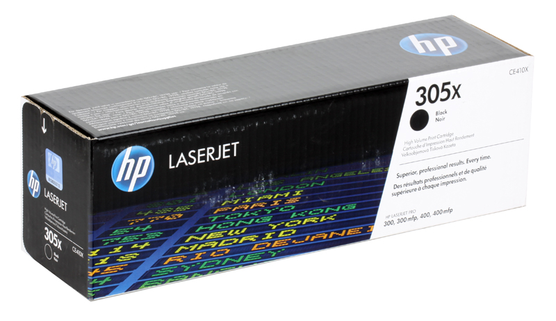 Картридж HP CE410X (№305X) Черный CLJ M351, M375, M451, M475 повышенной емкости alzenit kit unit assembly for hp 2025 2320 m351 m476 original used transfer belt printer parts on sale