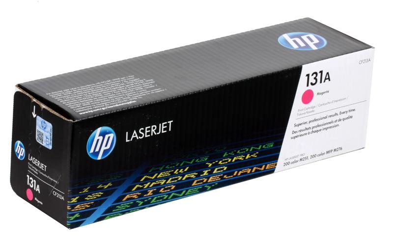 Картридж HP CF213A (131A) пурпурный hp cf213a 131a magenta тонер картридж для лазерных принтеров
