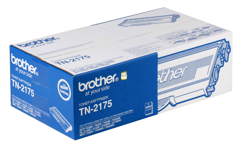 Тонер-картридж Brother TN2175 картридж sakura tn2175
