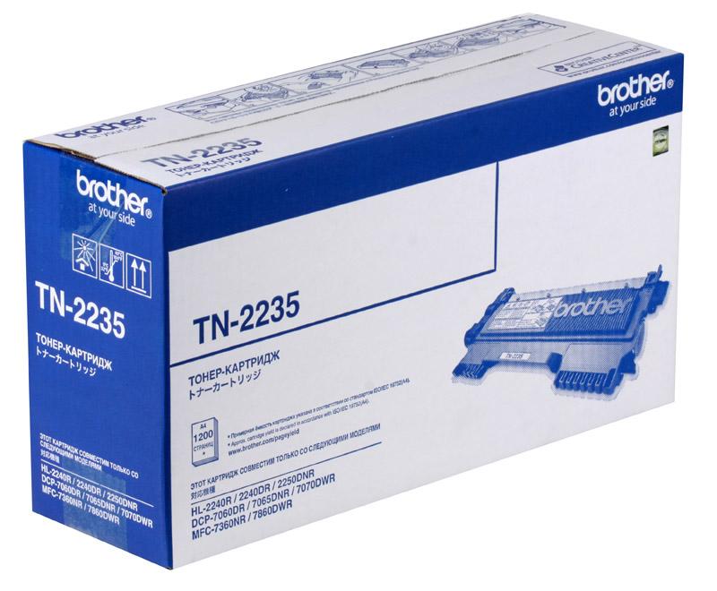 Тонер-картридж Brother TN2235 тонер картридж brother lc1000bk