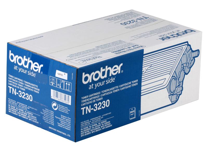 Тонер-картридж Brother TN3230 картридж для принтера и мфу brother tn 3230 black