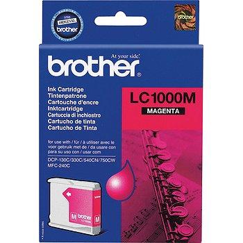Картридж струйный Brother LC1000M картридж струйный brother lc1000m