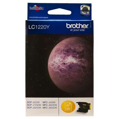 Картридж струйный Brother LC1220Y original tcl 48e5000 logic board 90 days warranty