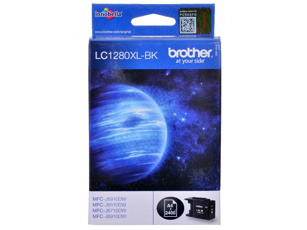Картридж струйный Brother LC1280XLBK чернильный картридж brother lc1280xlbk