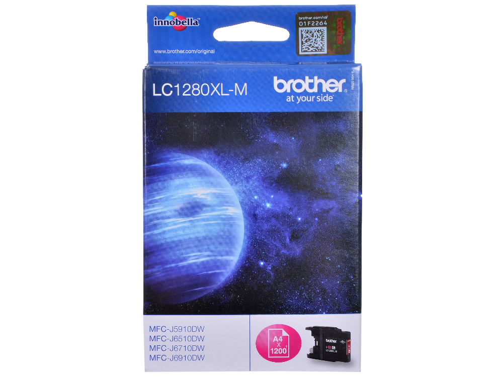 Картридж струйный Brother LC1280XLM картридж brother lc1280xlm пурпурный lc1280xlm