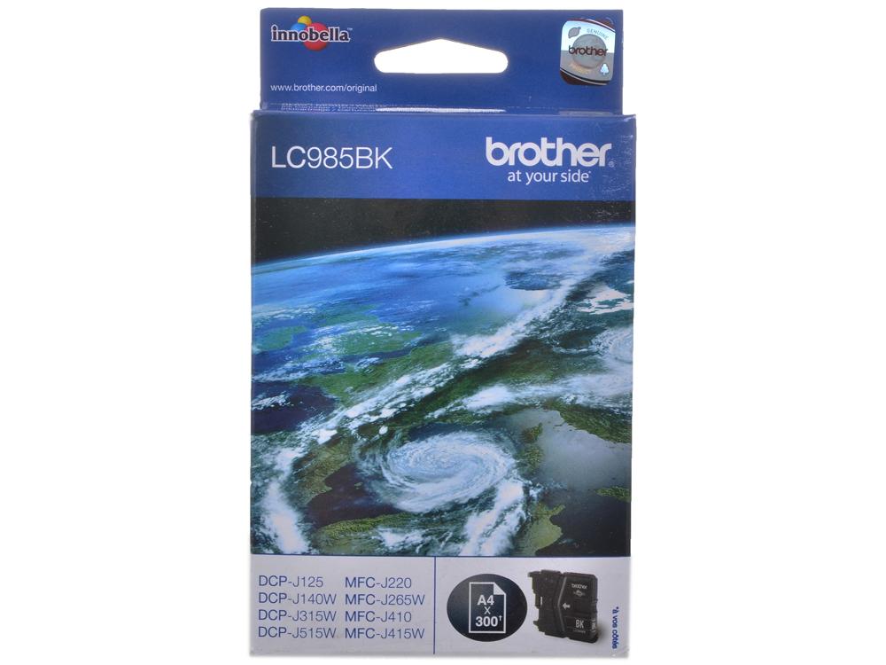 Картридж струйный Brother LC985BK brother lc985bk