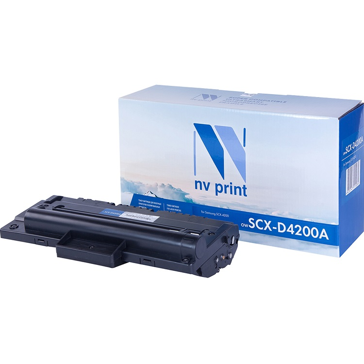 Тонер-картридж NV-Print совместимый Samsung SCX-D4200A для SCX-4200. Чёрный. 3000 страниц. free shipping for samsung scx 4200 scx4200 formatter logic board jc92 01762a printer part on sale