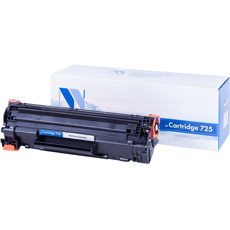 Картридж NV-Print совместимый Canon 725 для LBP 6000/6000B/HP LJ Р1102/Р1102W. Черный. 1600 страниц. картридж nv print совместимый hp cf283x для hp lj mfp m125 m127