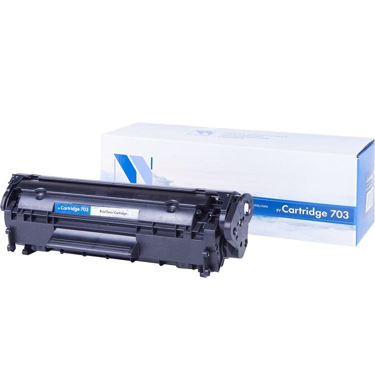Картридж NV-Print совместимый Canon 703 для LBP 2900/3000/1010/1012/1015/1020/1022/3015/3020/3030. Чёрный. 2000 страниц. картридж nv print совместимый canon ep 22 для lbp 800 810 1120 hp lj 1100 1100a чёрный 2500 страниц