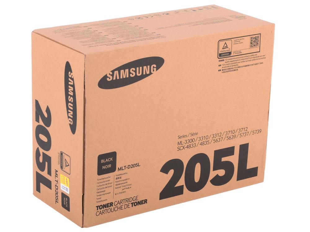 Картридж Samsung MLT-D205L Чёрный