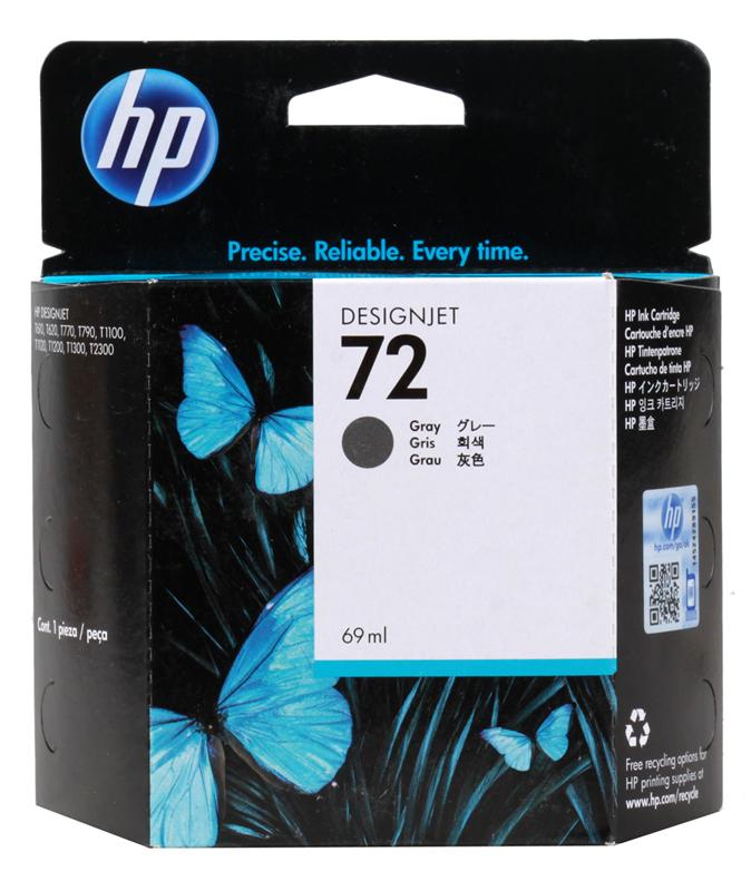 Картридж HP C9401A (72) Gray 69 ml картридж для принтера hp c9399a 72 69 ml magenta ink cartridge