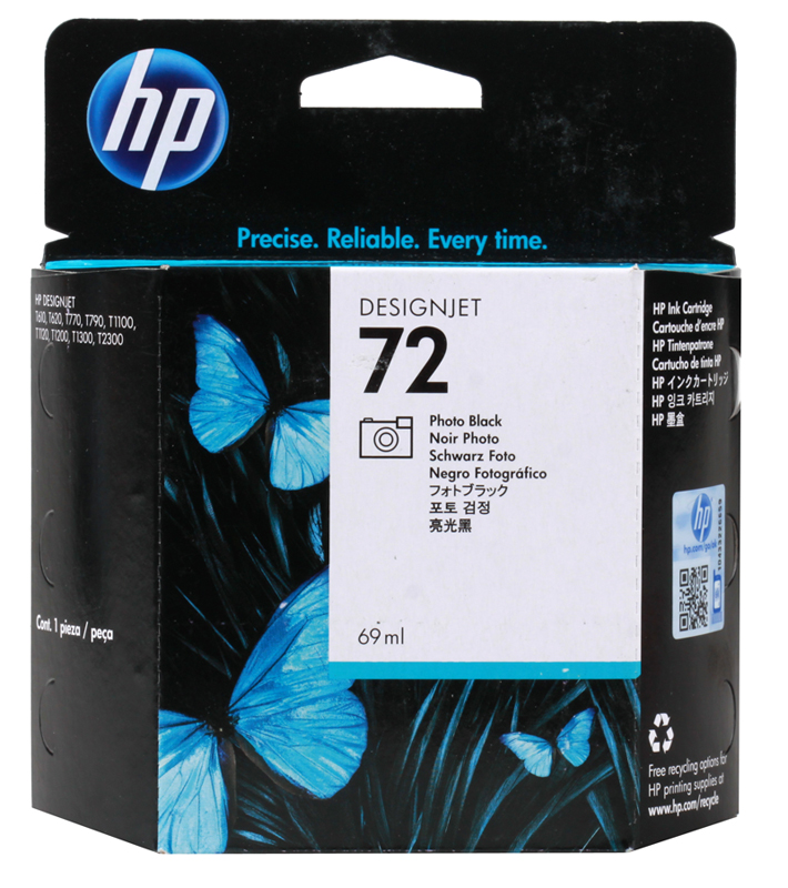 Картридж HP C9397A (72) Photo Black 69 ml все цены