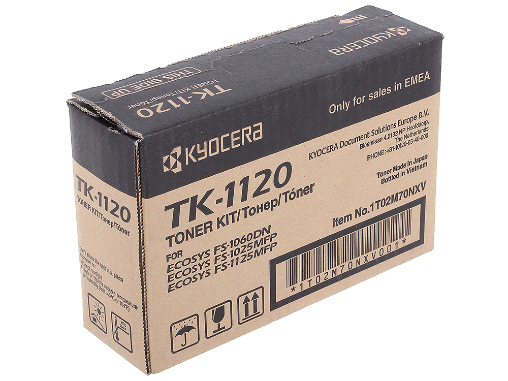 Тонер Kyocera TK-1120  1T02M70NX0  (FS-1125MFP / FS-1060DN ) new original kyocera bush roller mc 1 set of 2 for fs 1040 1060 1020 1120 1025 1125