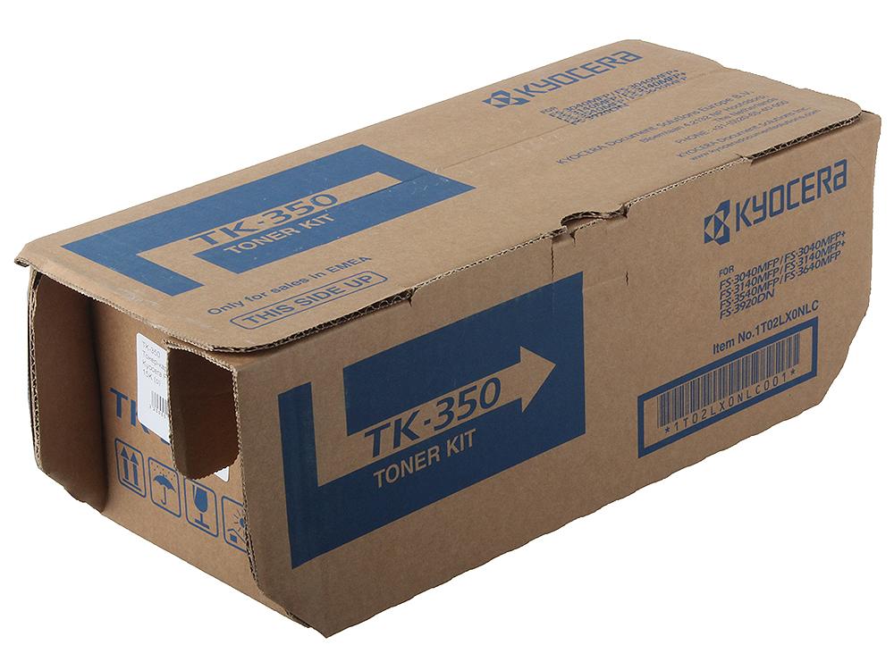Тонер Kyocera TK-350B/350 для FS-3920DN/FS-3140MFP. Чёрный. 15000 страниц. 1T02LX0NL0/1T02LX0NLC kyocera fs 9130dn