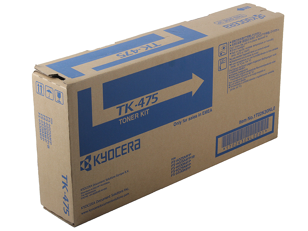 Тонер Kyocera TK-475 (15 000 копий)   1T02K30NL0  (FS-6525MFP ) цена и фото