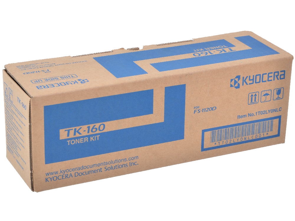 Тонер Kyocera TK-160 1T02LY0NL0 (FS-1120D ) картридж kyocera tk 160 для fs 1120d 2500стр черный