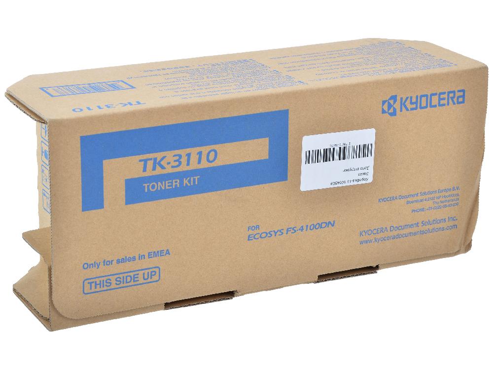 Тонер Kyocera ТК-3110 1T02MT0NL0 (FS-4100DN ) картридж kyocera tk 3110 для fs 4100dn 15500стр