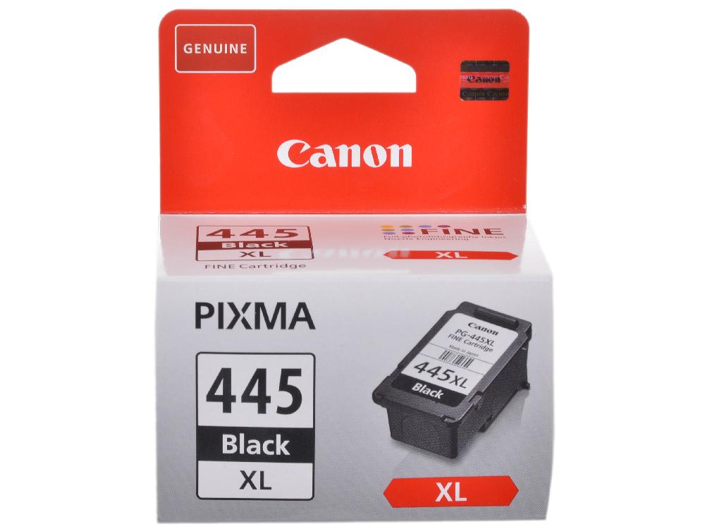 Картридж Canon PG-445XL для MG2540. Чёрный. 400 страниц. картридж canon pg 445xl black для mg2440 mg2540