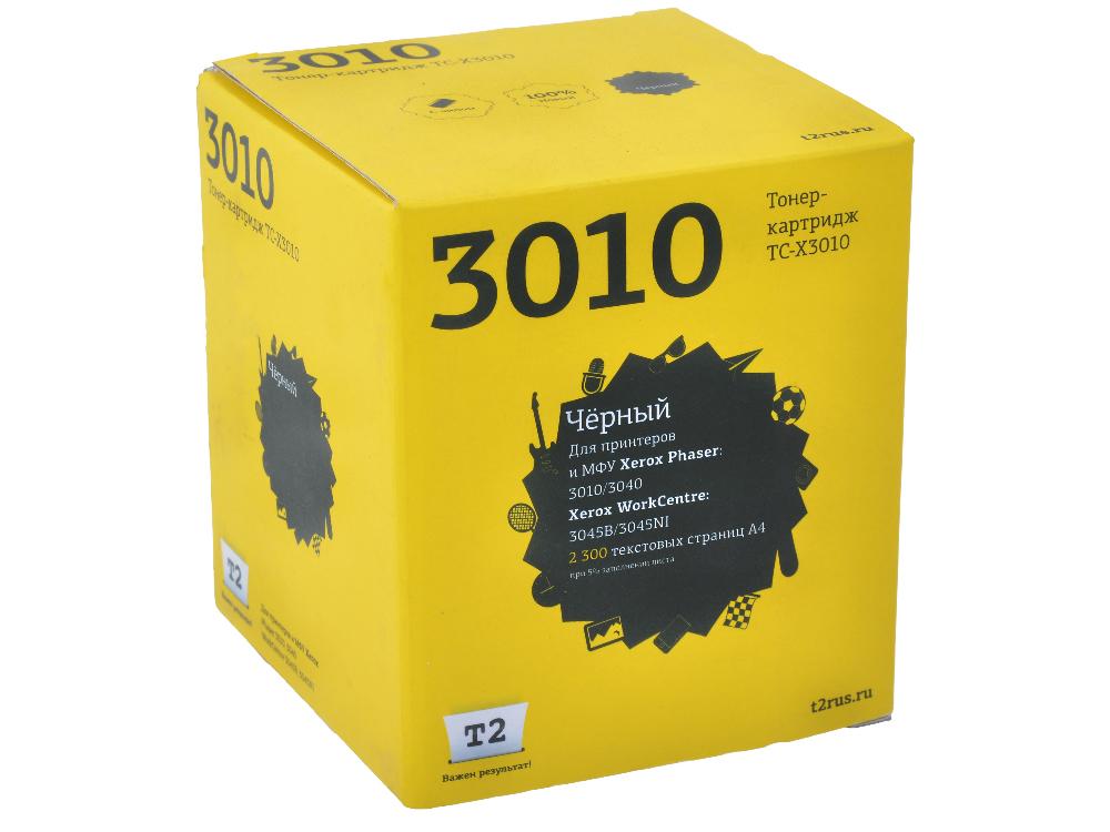 Картридж T2 TC-X3010 (с чипом) картридж t2 для hp tc h85a laserjet p1102 1102w pro m1132 m1212nf m1214nfh canon i sensys lbp6000 cartrige 725 1600 стр с чипом