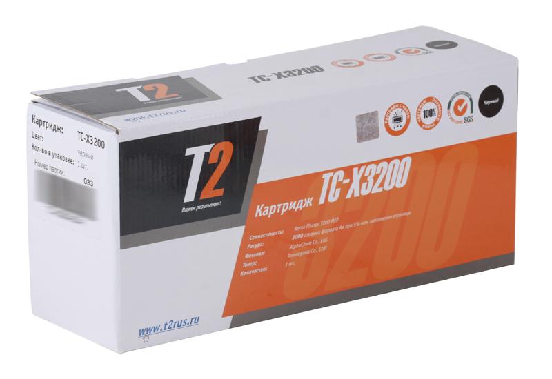Картридж T2 TC-X3200 (с чипом) картридж для принтера t2 tc hcf413a с чипом purple