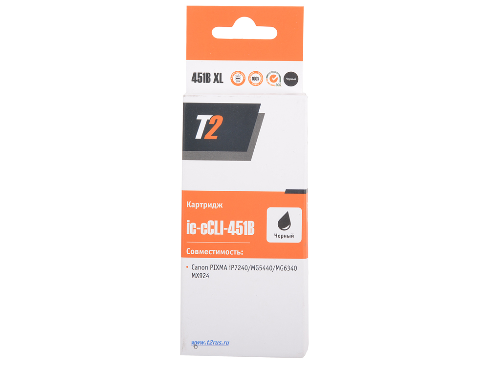 Картридж T2 CCLI-451BK XL (с чипом)