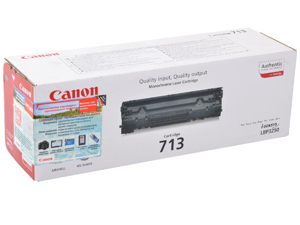 Картридж Canon 713 для i-SENSYS LBP3250. Чёрный. 2000 страниц. amtok i 5 2000