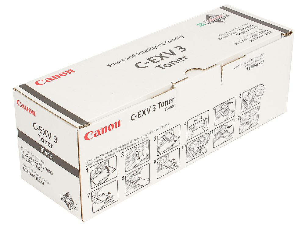 Тонер-картридж Canon C-EXV3 Черный тонер картридж mx 500gt
