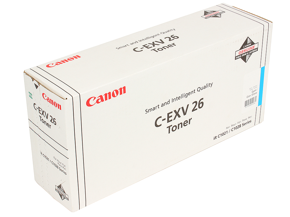 Тонер-картридж Canon C-EXV26C недорго, оригинальная цена