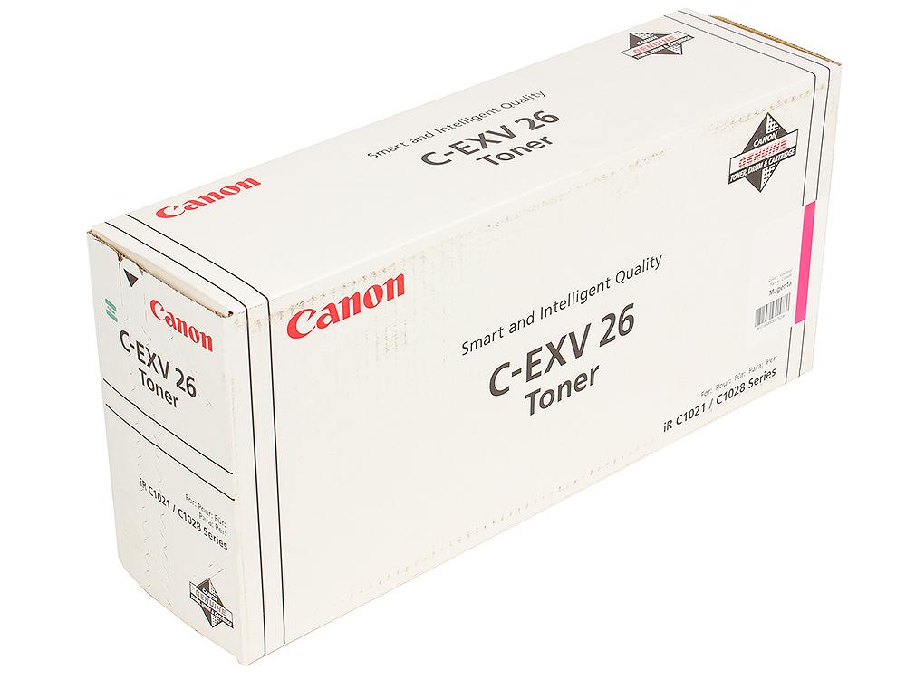 Тонер-картридж Canon C-EXV26M тонер картридж mx 500gt