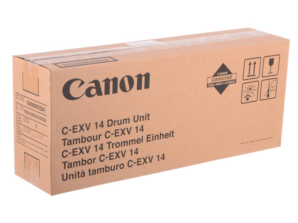 Фотобарабан Canon C-EXV14 для IR2016/2020. Чёрный. 8300 страниц. фотобарабан drum canon c exv14 ч б 55000стр для ir2016 2020 0385b002ba 000