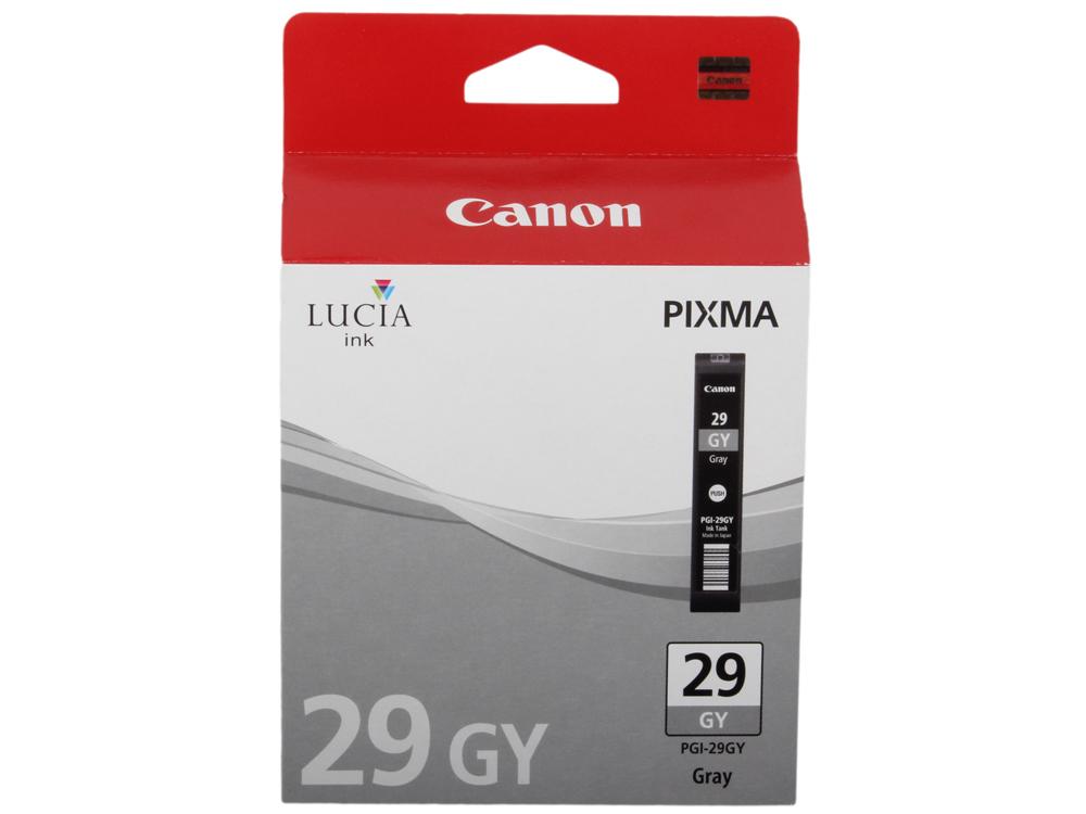 Картридж Canon PGI-29GY для PRO-1. Серый. 179 страниц. цены