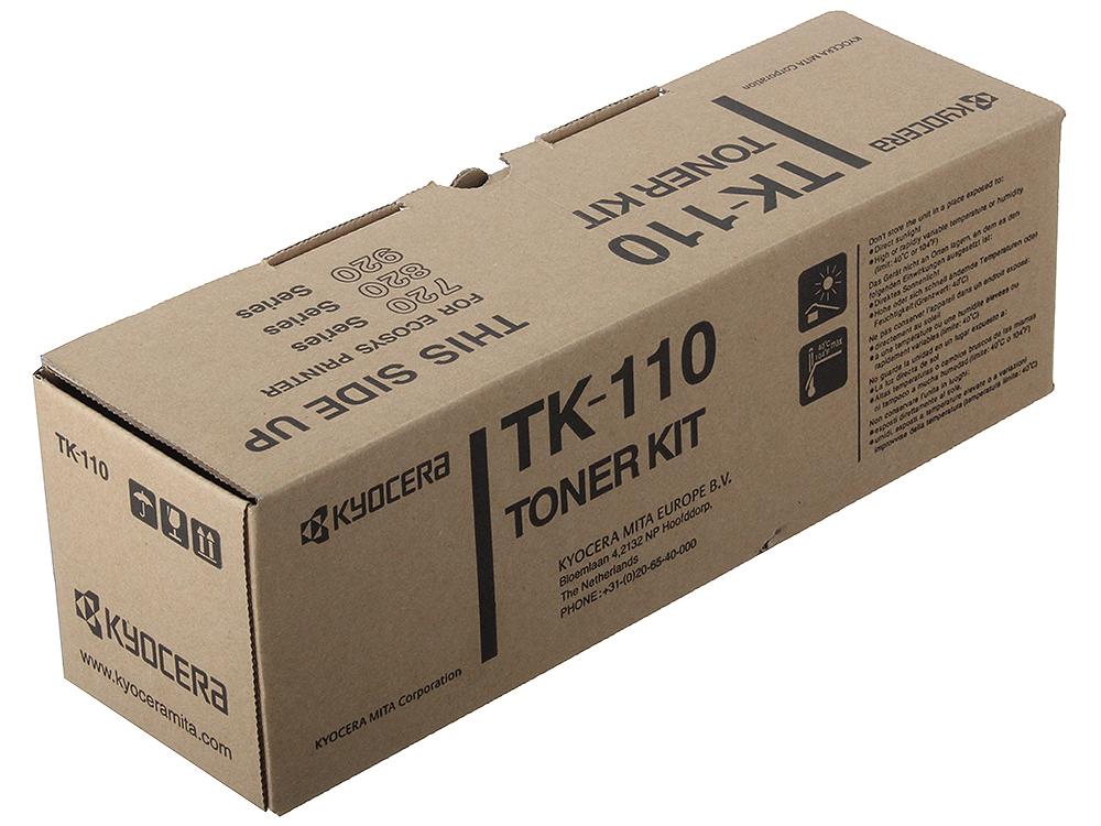 Тонер Kyocera TK-110 черный (black) 6000 стр. для FS-720/820/920/1016MFP/1116MFP