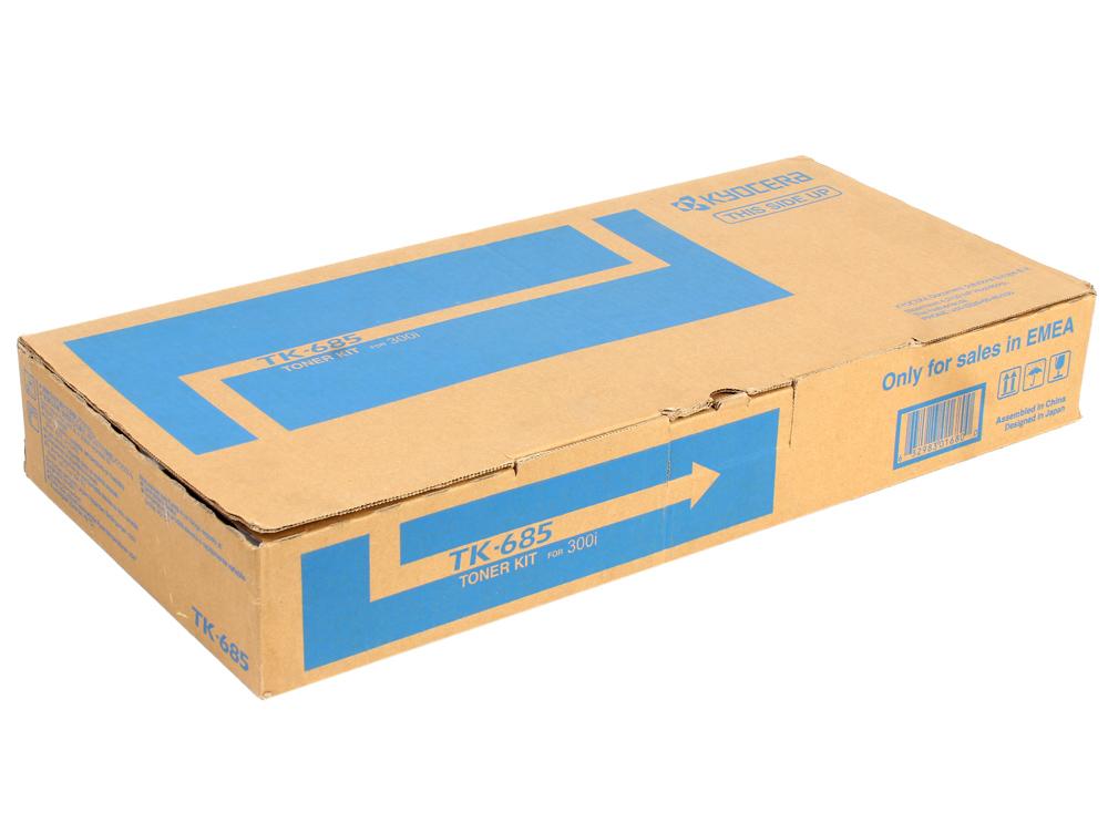 Тонер Kyocera TK-685 для TASKalfa 300i. Чёрный. 20000 страниц. kyocera tk 685