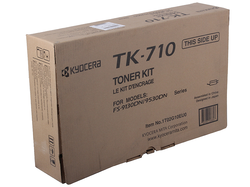 Тонер Kyocera TK-710 для FS-9130DN/9530DN. Чёрный. new original kyocera 302gr25190 thermistor fuser nc for km 5050 4050 3050 ta520i 420i fs 9130dn 9530dn