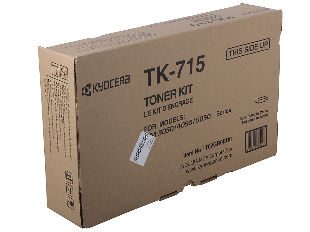 Тонер Kyocera TK-715 для KM3050/4050/5050. Чёрный. flexsteel 13pcs hss titanium twist drill bits set to metal 8pcs carbon steel manual black twist wood drill bit set