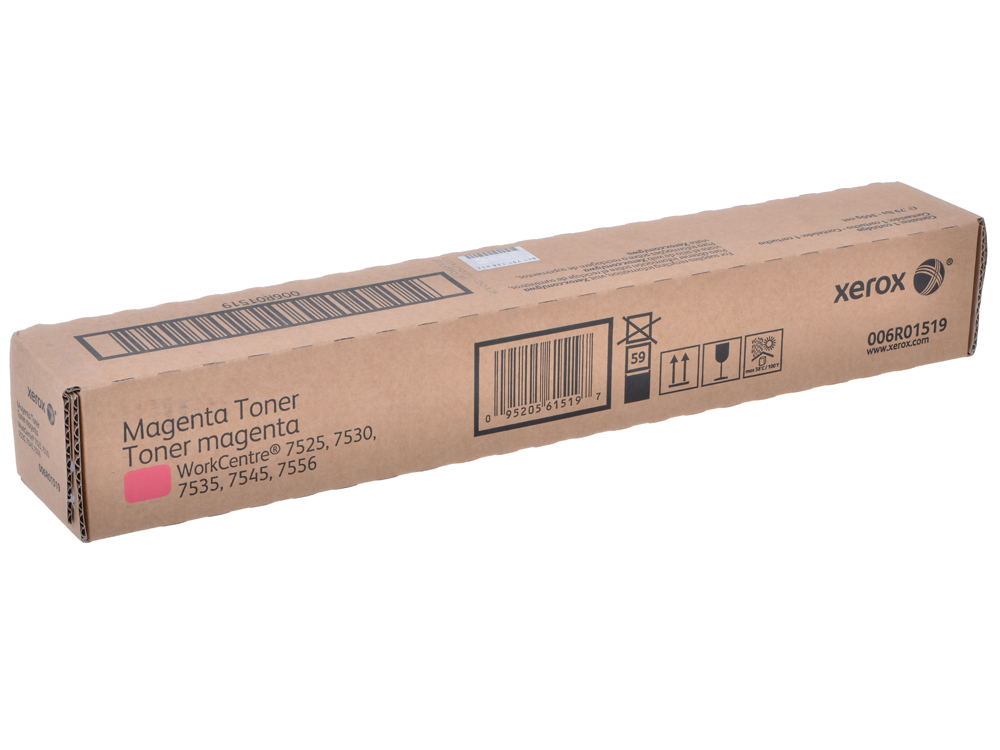 Картридж Xerox 006R01519 для WC 7545/7556. Пурпурный. 15000 страниц. модуль с 1 лотком xerox 097s04161 для wc 7525 7530 7535 7545 7556