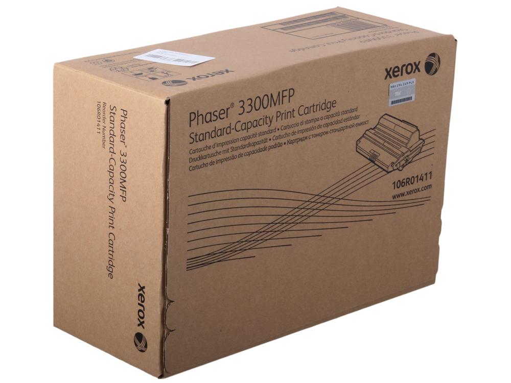Картридж Xerox 106R01411 для Phaser 3300 MFP/X. Чёрный. 4000 страниц.