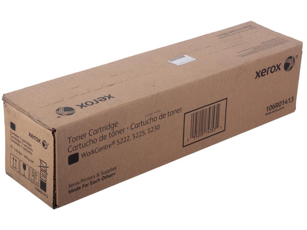 Картридж Xerox 106R01413 для  WC 5222. Чёрный. 20000 страниц.