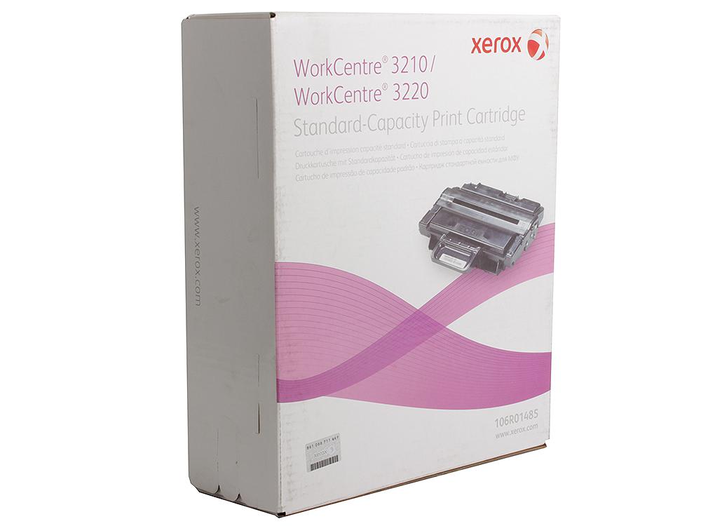 Картридж Xerox 106R01485 для WC 3210/3220. Чёрный. 2000 страниц. картридж xerox 106r01487 для wc 3210 3220 чёрный 4100 страниц