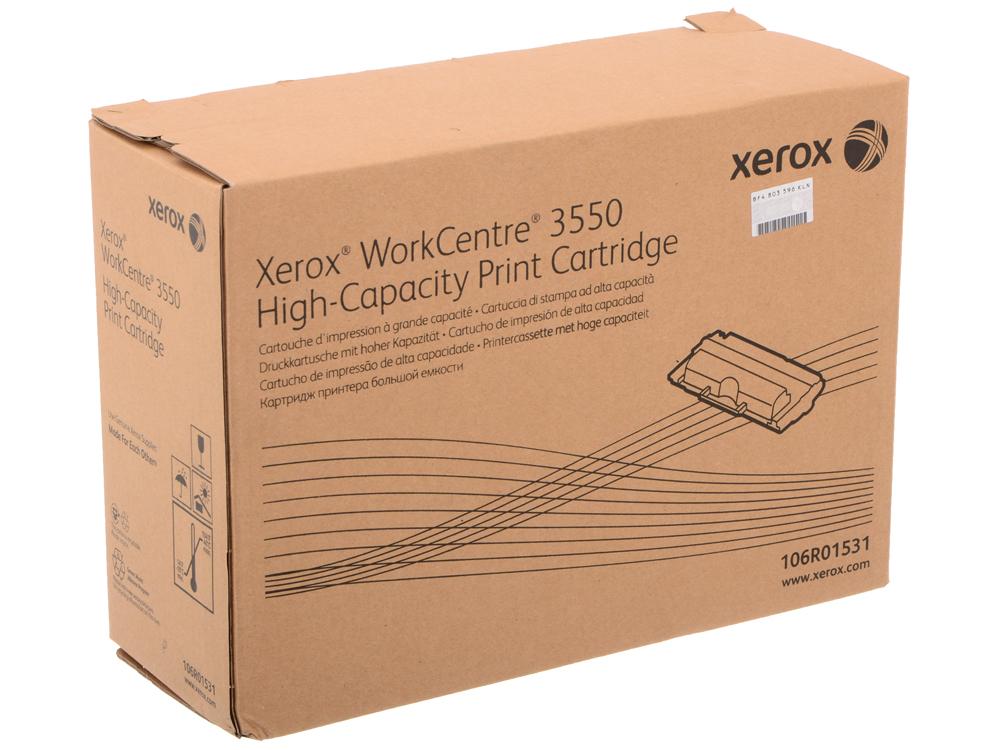 Картридж Xerox 106R01531 для WC3550. Чёрный. 11000 страниц. картридж xerox 106r01531 для xerox wc 3550 черный