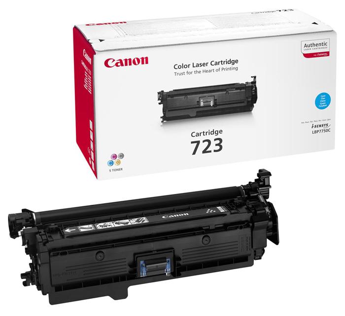 Картридж Canon 723 C для LBP 7750/7750CDN . Голубой. 8500 страниц. тонер картридж canon 723y 2641b002 желтый для canon lbp 7750cdn 8500стр