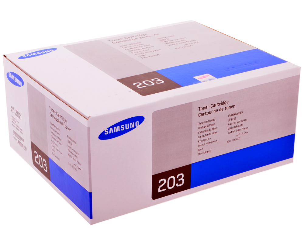 цена на Картридж Samsung MLT-D203S для ProXpress SL-M3320/3820/4020, M3370/3870/4070. Чёрный. 3000 страниц.