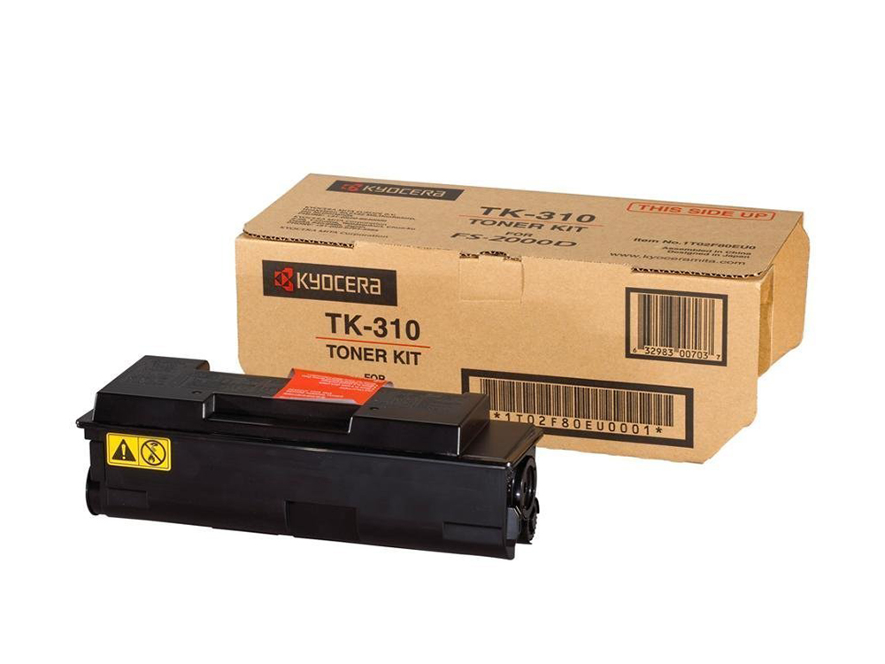 Тонер Kyocera TK-310 для FS-2000D/3900DN/4000DN. Чёрный. 12000 страниц. картридж kyocera tk 320 для fs 4000dn черный 15000стр