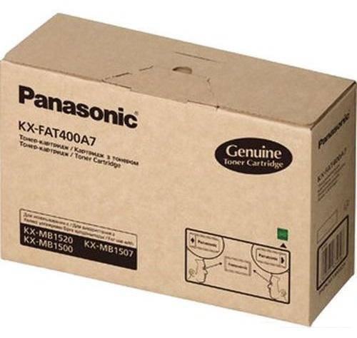 Картридж Panasonic KX-FAT400A7 для KX-MB1520 RU / KX-MB1500 RU. Чёрный. 1800 страниц.