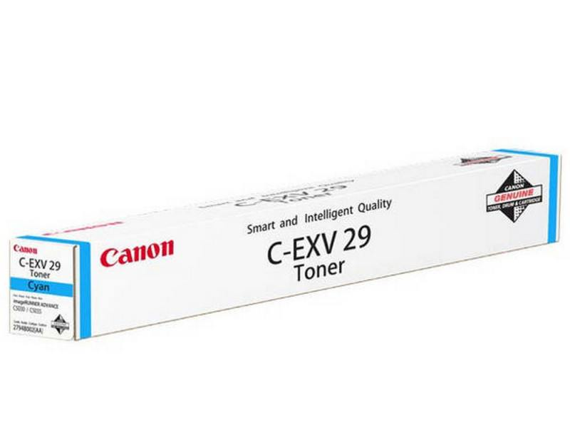 Тонер-картридж canon c-exv29c для