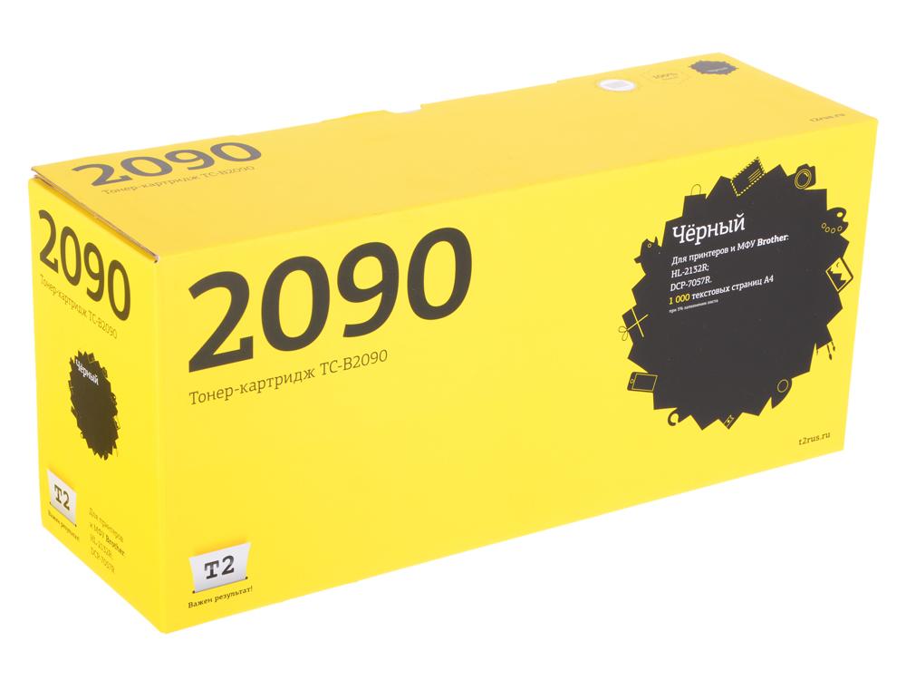 Картридж T2 TC-B2090 для Brother HL-2132R/DCP-7057R (1000 стр.) картридж t2 tc k1120 черный
