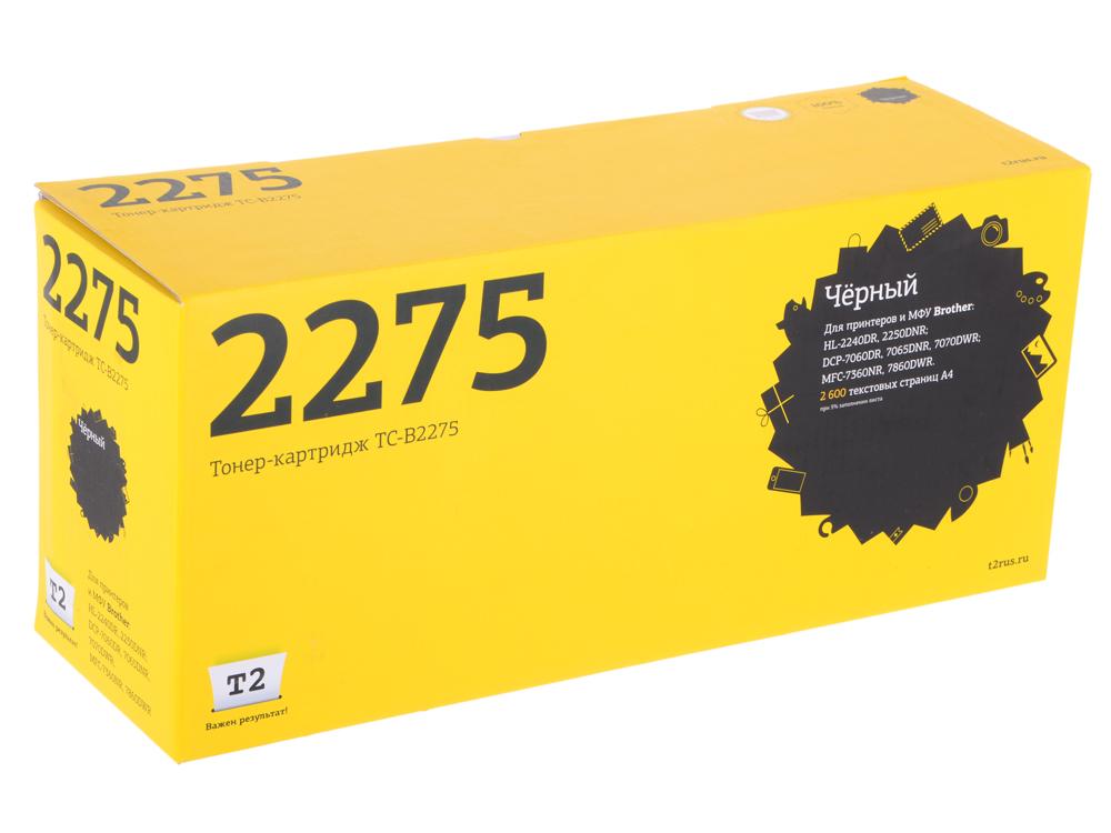 Картридж T2 TC-B2275 черный картридж t2 tc cexv50 черный
