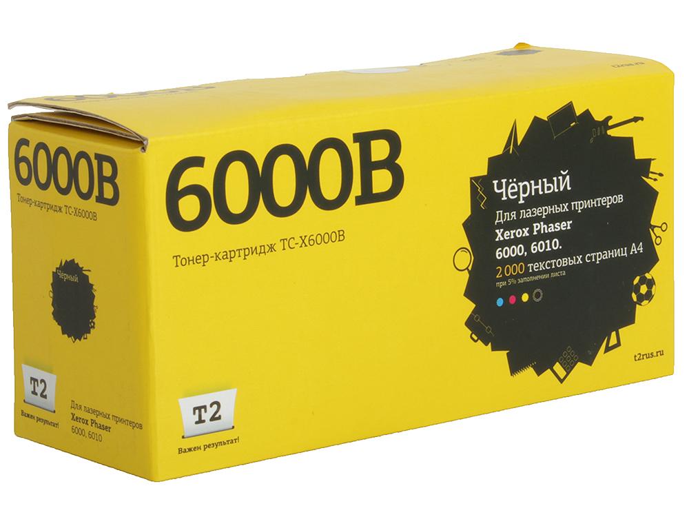 Тонер-картридж T2 TC-X6000B (с чипом) картридж для принтера t2 tc hcf413a с чипом purple