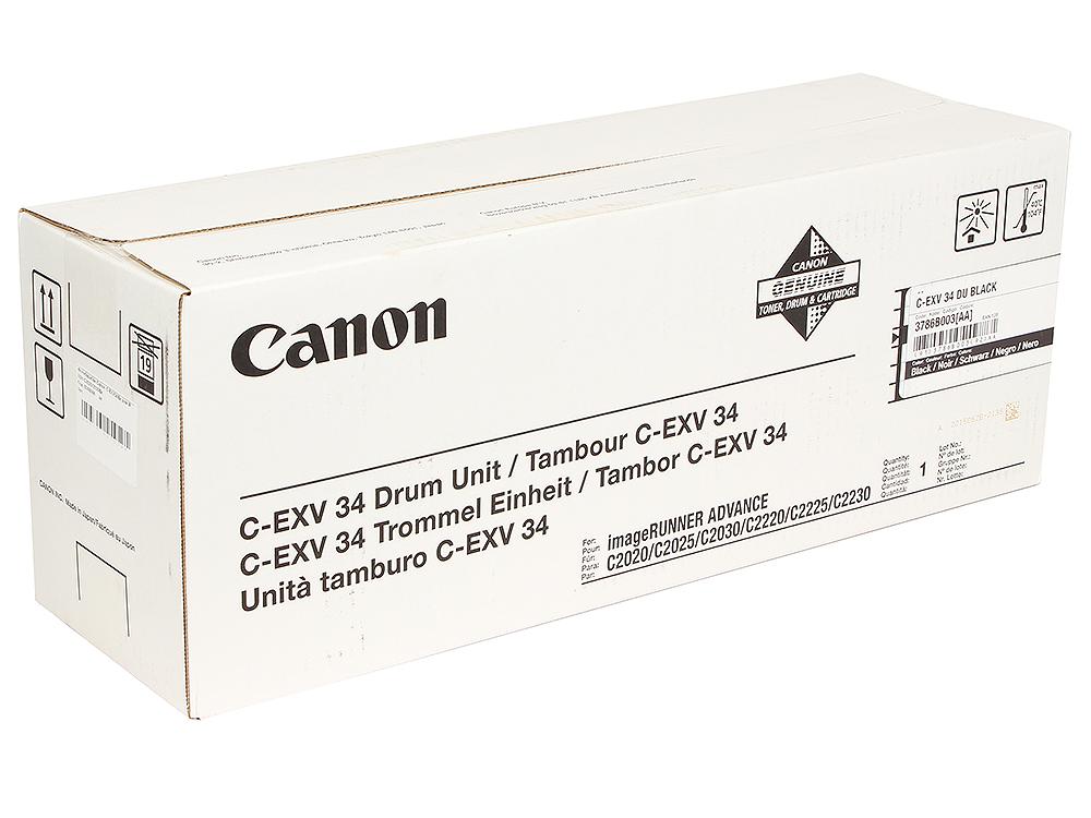 Фотобарабан Canon C-EXV34Bk фотобарабан canon c exv34bk